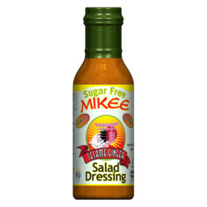 Sugar Free Sesame Ginger Salad Dressing