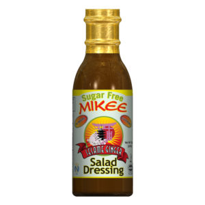 Sugar Free Sesame Ginger Salad Dressing