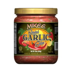 Passover Roasted Garlic Salsa