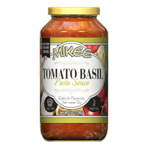Passover Tomato Basil Sauce