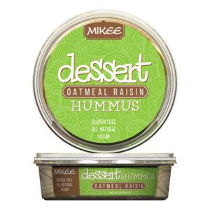 Oatmeal Raisin Dessert Hummus